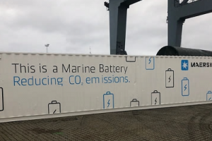 GLOBAL: Maersk piloting battery system on board container ship