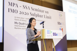 ASIA PACIFIC: MPA Chief addresses IMO 2020 concerns